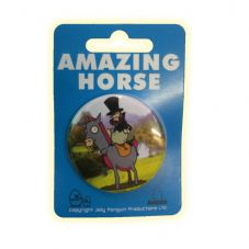 Amazing Horse Pin Badge
